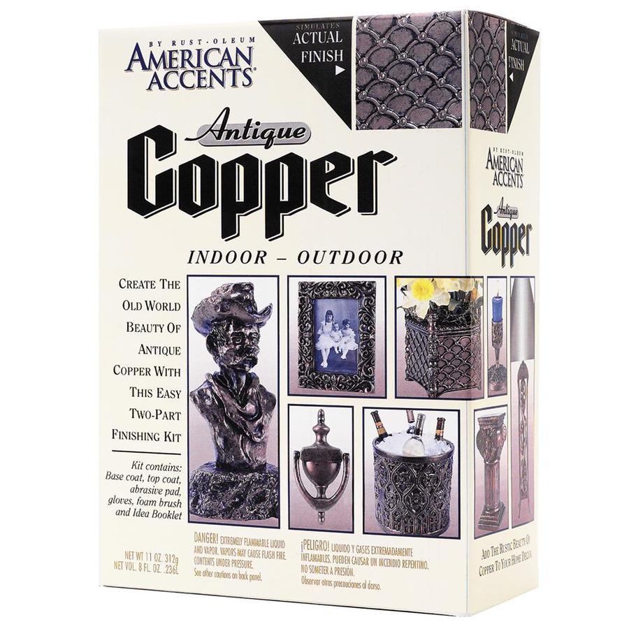 Rust-Oleum Decorative Finishes American Accents Antique Copper Enamel Spray Paint (Actual Net Contents: 11-oz)