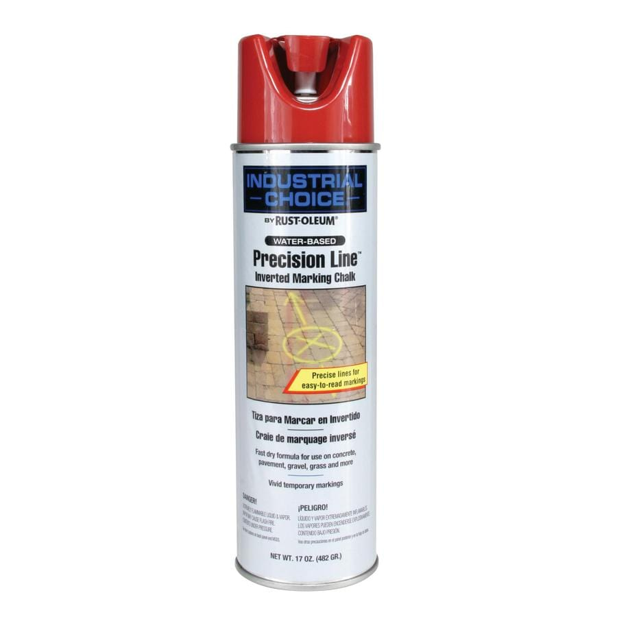 Rust-Oleum Industrial Choice Marking Red Chalky Fade Resistant Spray Paint (Actual Net Contents: 17-oz)