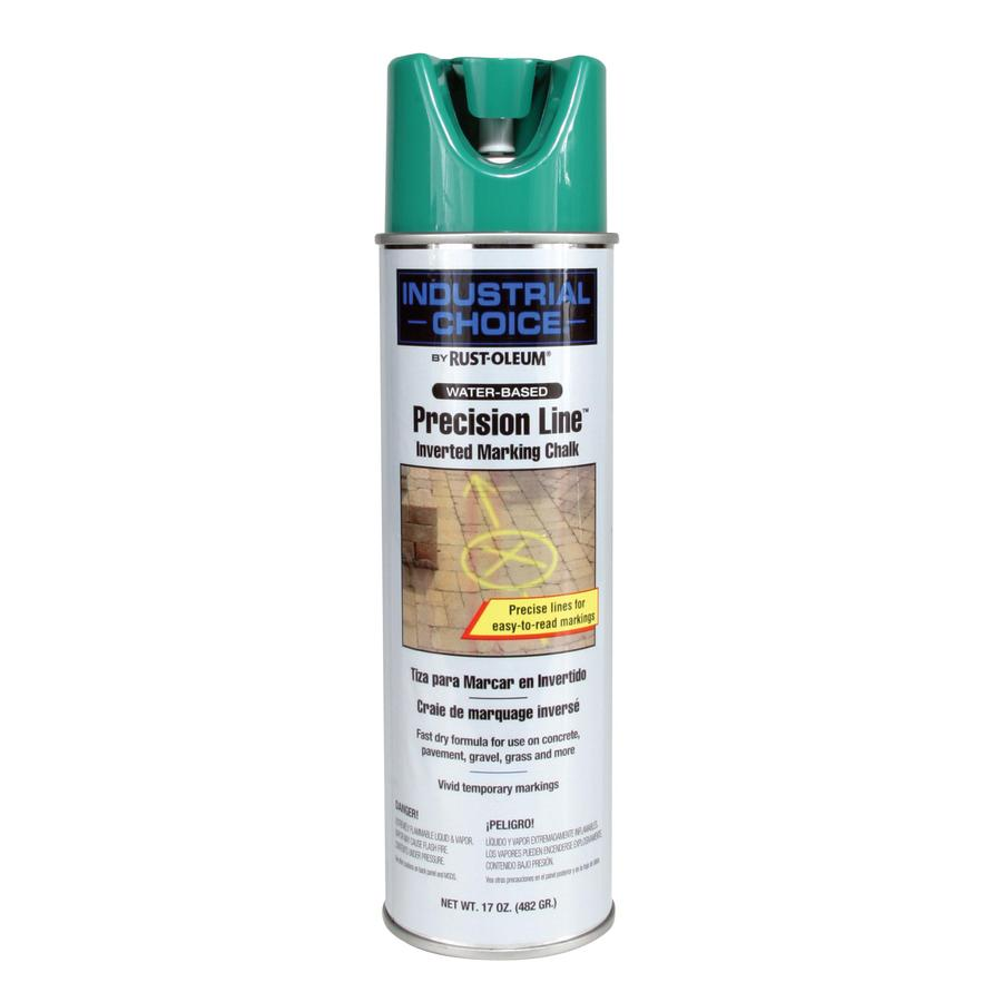 Rust-Oleum Industrial Choice Marking Green Chalky Fade Resistant Spray Paint (Actual Net Contents: 17-oz)