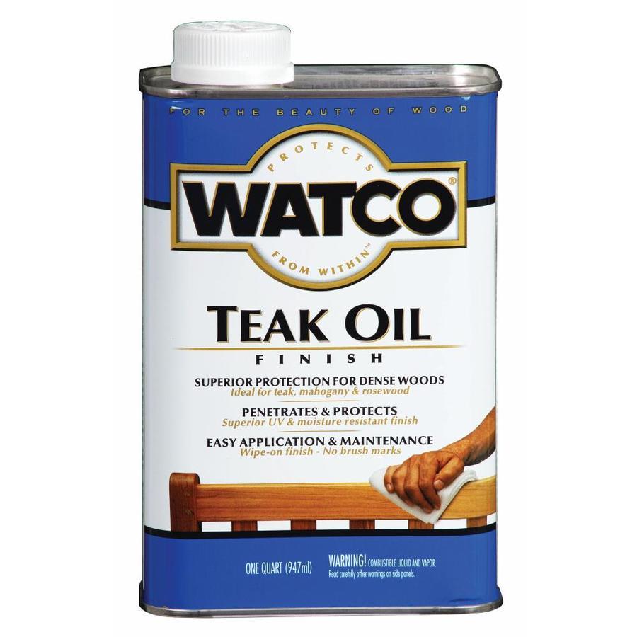 WATCO Teak Oil 16 fl oz Teak Oil