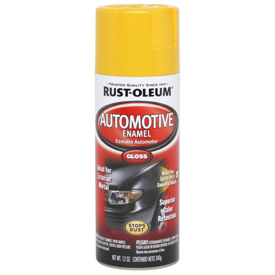 Rust-Oleum Auto 12-oz Xtreme Yellow Gloss Spray Paint