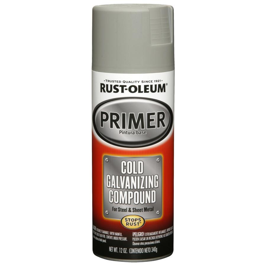 Rust-Oleum Auto 12-oz Cold Galvanizing Compound Matte Spray Paint