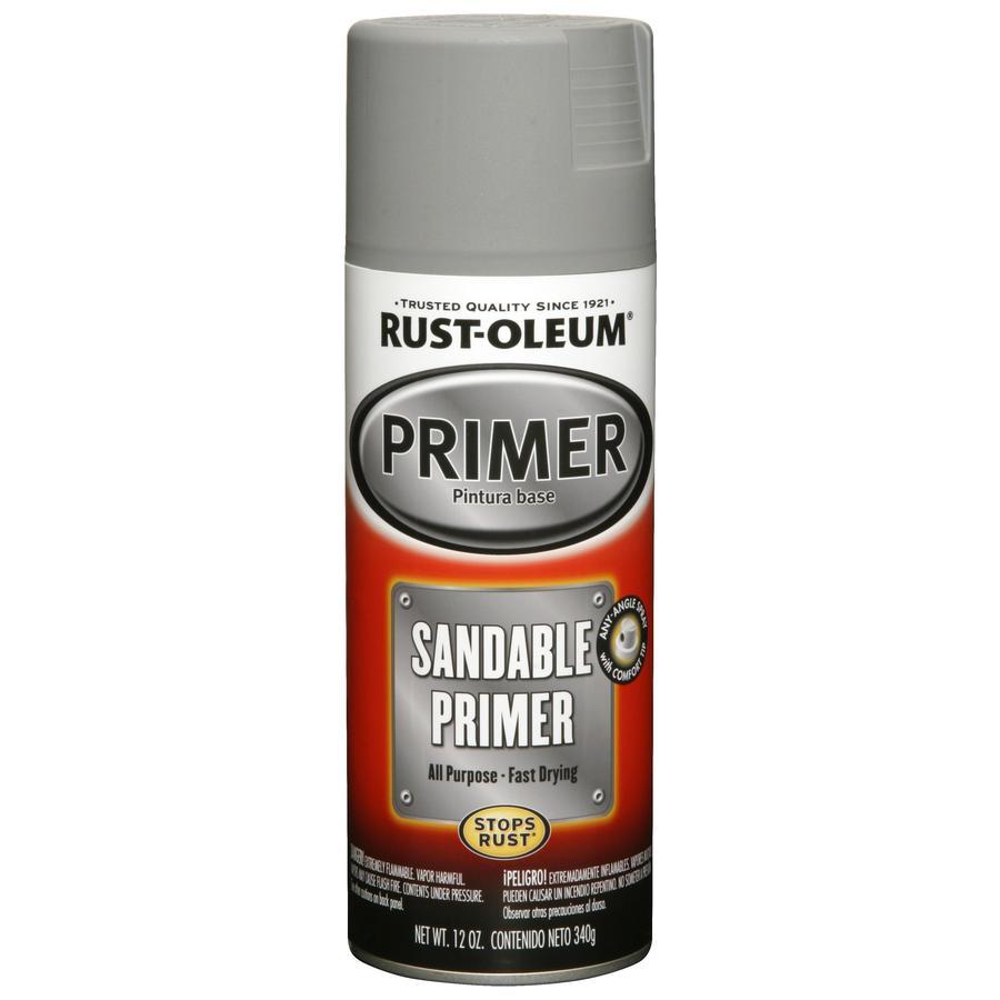 Rust-Oleum Auto 12-oz Gray Semi-Gloss Spray Paint