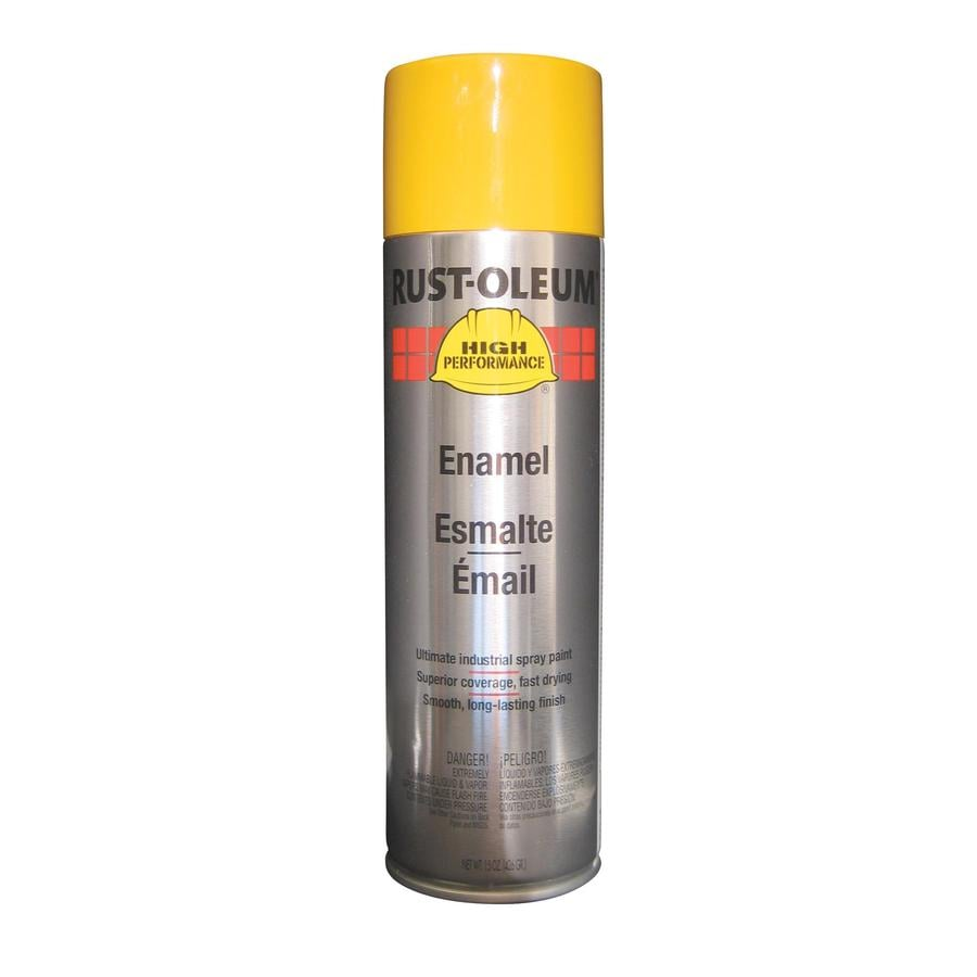Rust-Oleum Farm Equipment High Performance John Deere Yellow Rust Resistant Enamel Spray Paint (Actual Net Contents: 15-oz)