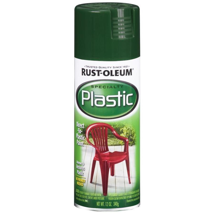 Shop Rust Oleum Specialty Paint For Plastic Dark Hunter