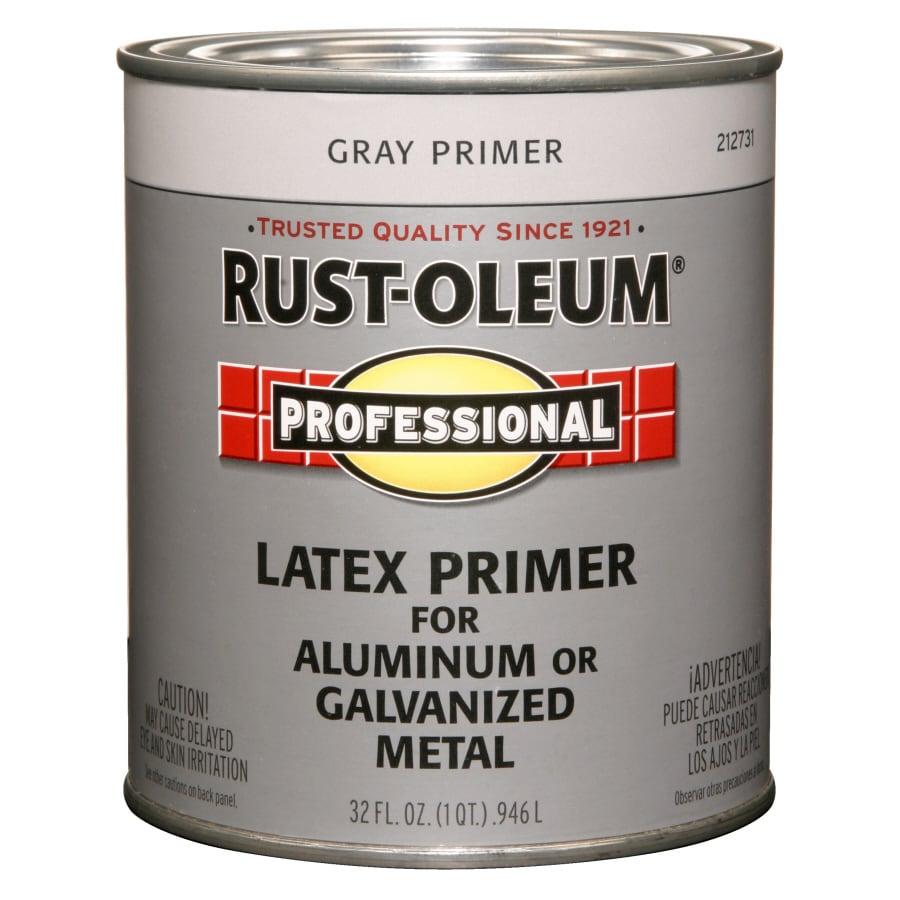Rust-Oleum 1-Quart Interior/Exterior Flat Flat Aluminum Latex-Base Paint