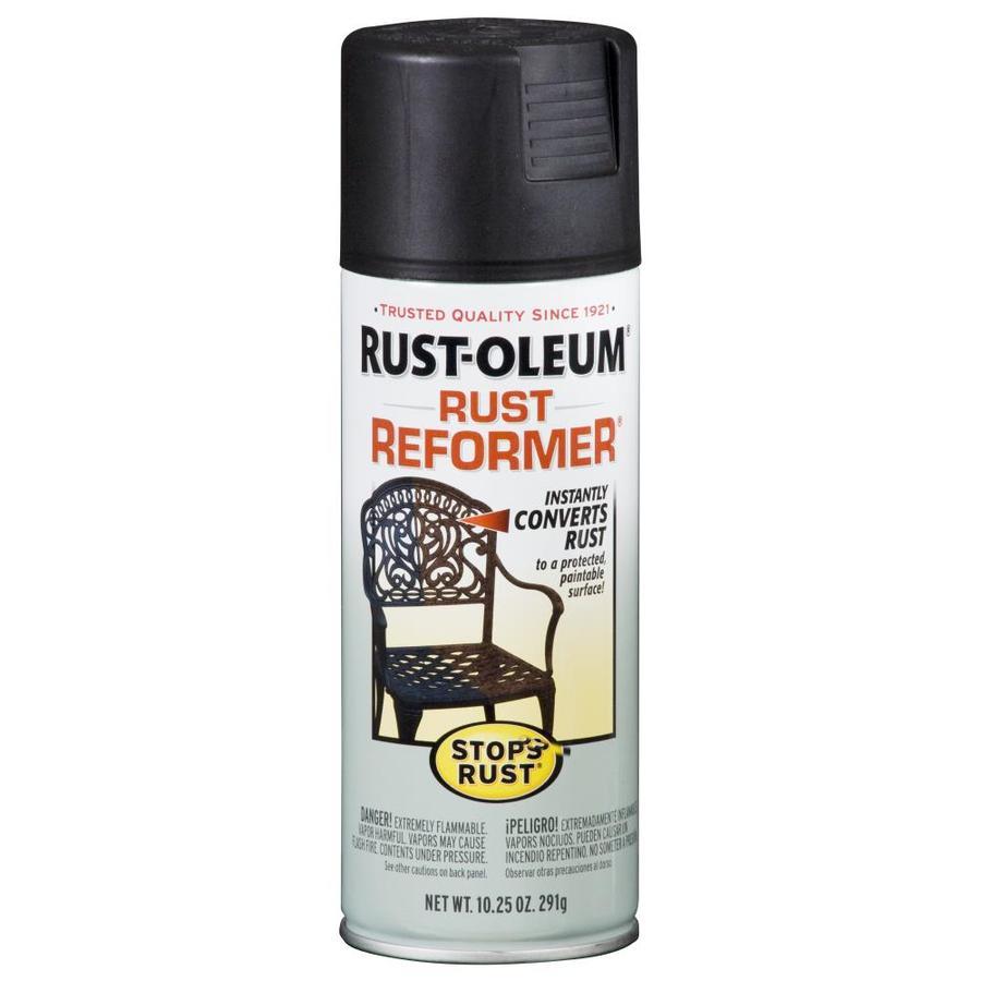 Shop Rust Oleum Stops Rust Black Rust Resistant Primer Spray Paint Actual Net Contents