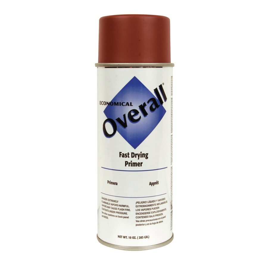 Rust-Oleum Overall Red Primer Fade Resistant Primer Spray Paint (Actual Net Contents: 10-oz)