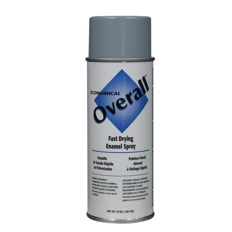 Rust-Oleum Overall Light Gray Fade Resistant Enamel Spray Paint (Actual Net Contents: 10-oz)