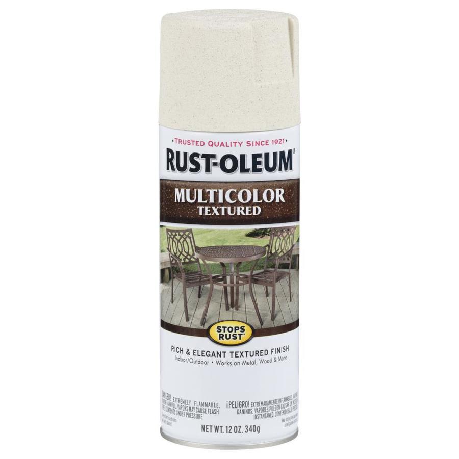 Rust-Oleum Stops Rust Caribbean Sand Textured Rust Resistant Enamel Spray Paint (Actual Net Contents: 12-oz)