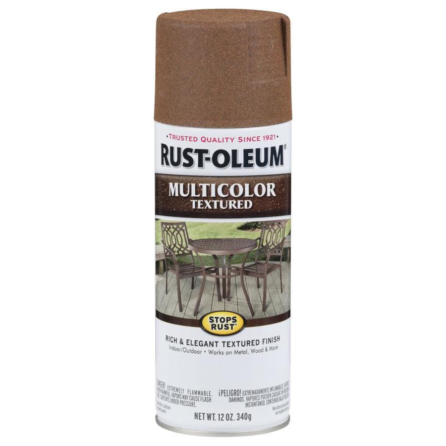 Rust-Oleum Stops Rust Rustic Umber Textured Rust Resistant Enamel Spray Paint (Actual Net Contents: 12-oz)