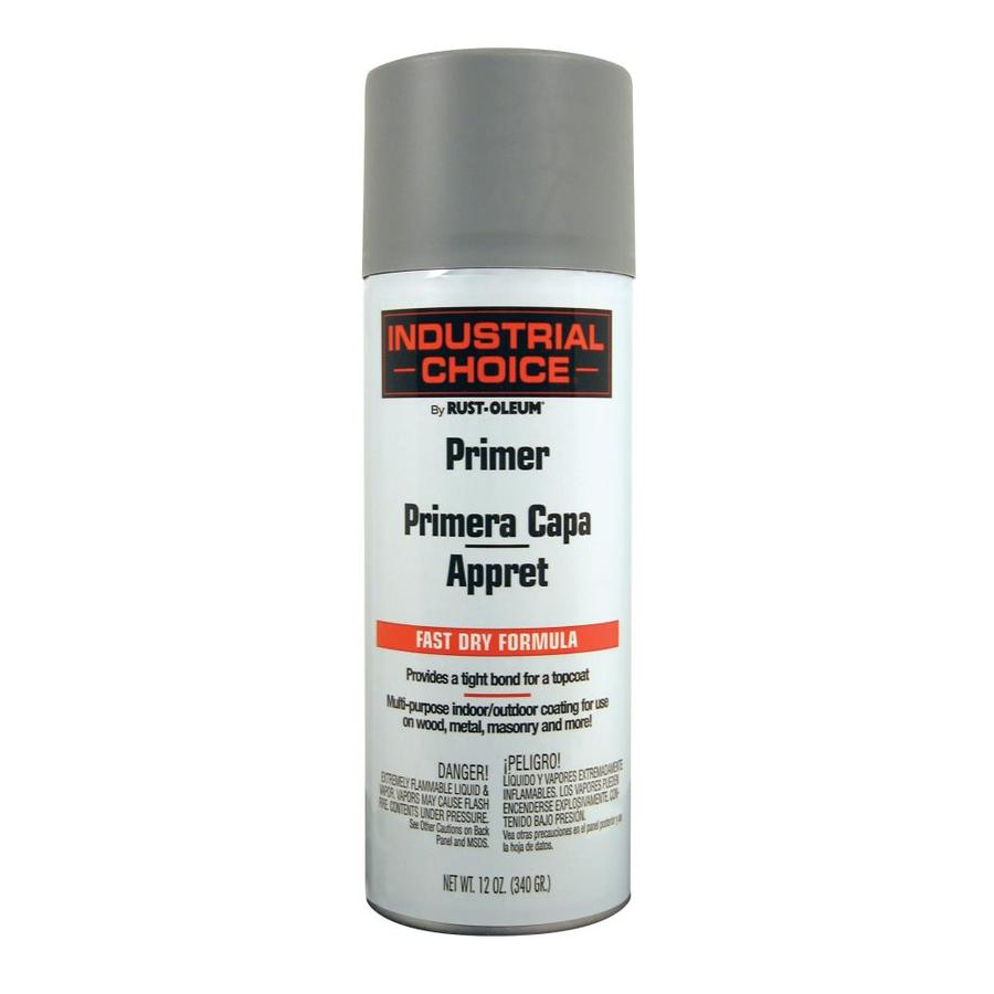 Rust-Oleum Industrial Choice Gray Primer Fade Resistant Enamel Spray Paint (Actual Net Contents: 12-oz)