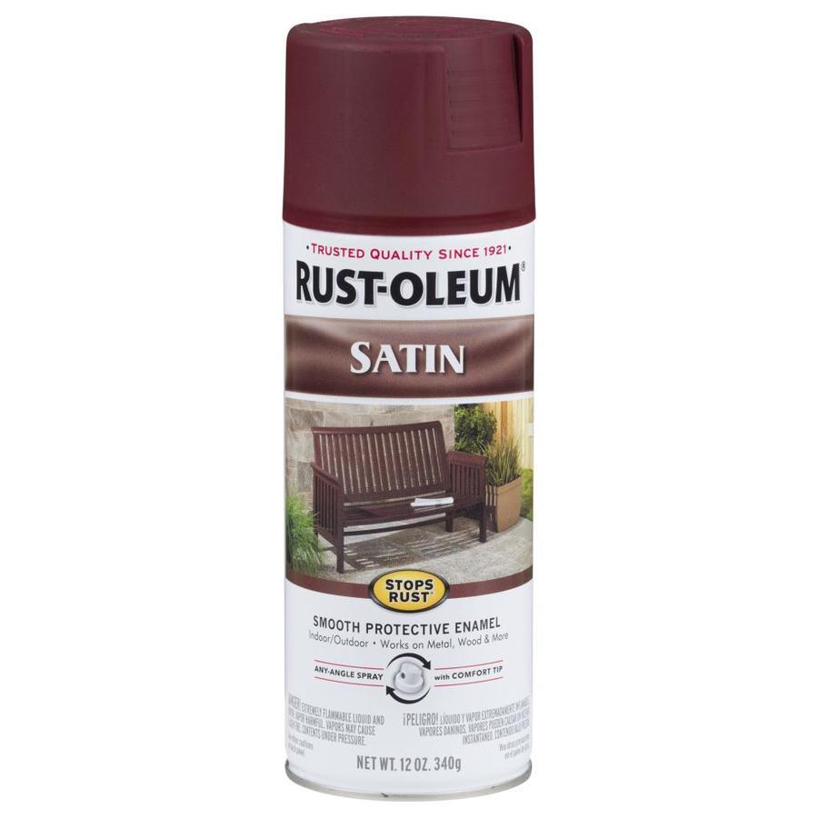 Rust-Oleum Stops Rust Stops Rust Cabernet Rust Resistant Enamel Spray Paint (Actual Net Contents: 12-oz)