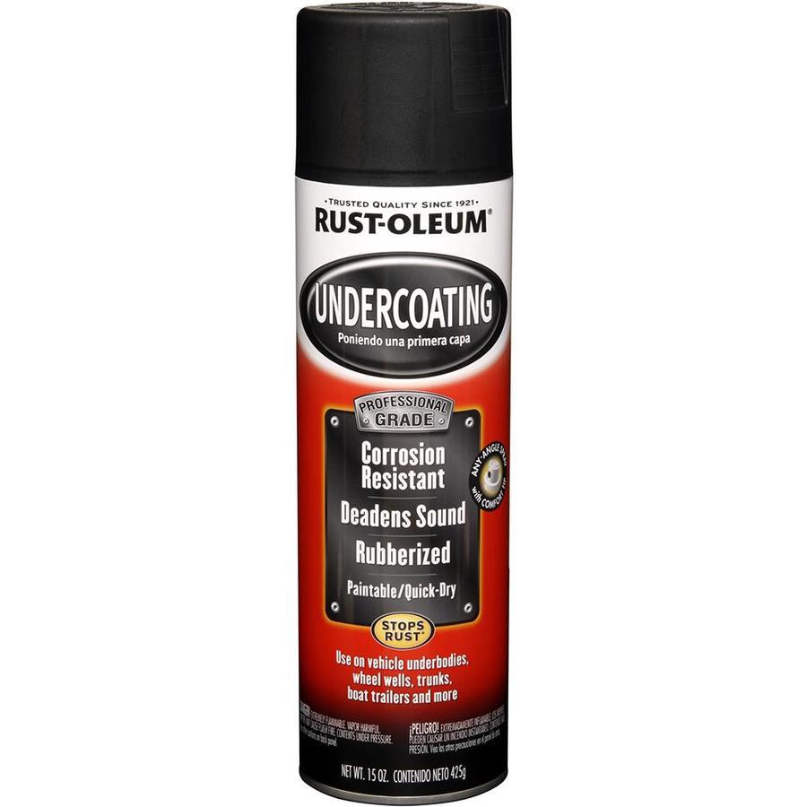 Rust-Oleum Automotive Undercoating Black Textured Fade Resistant Enamel Spray Paint (Actual Net Contents: 15-oz)