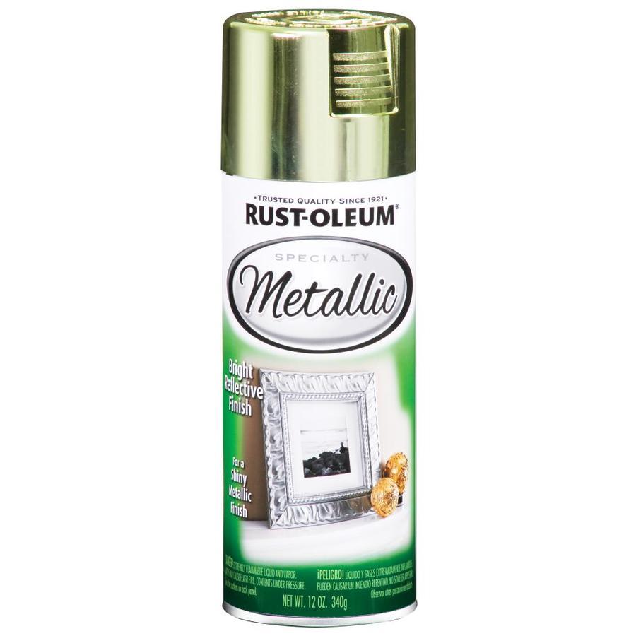 Rust-Oleum Specialty Metallic Brass Fade Resistant Spray Paint (Actual Net Contents: 11-oz)