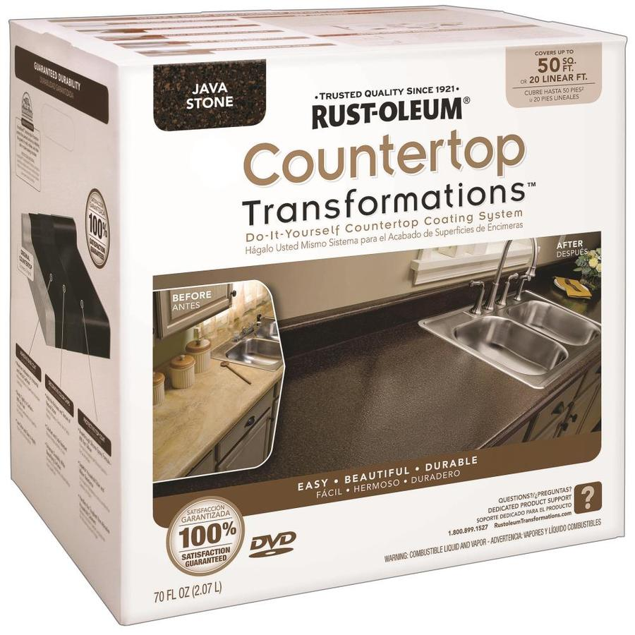 Rust-Oleum Countertop Transformations Java Stone Semi-Gloss Countertop Resurfacing Kit (Actual Net Contents: 70-fl oz)