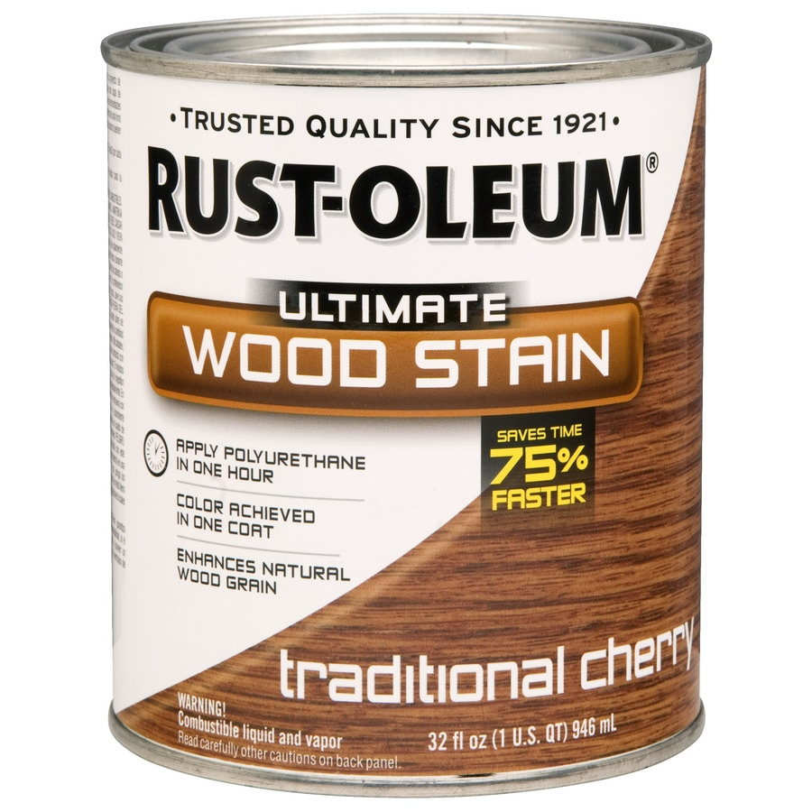 Rust-Oleum 1-Quart Traditional Cherry Wood Stain