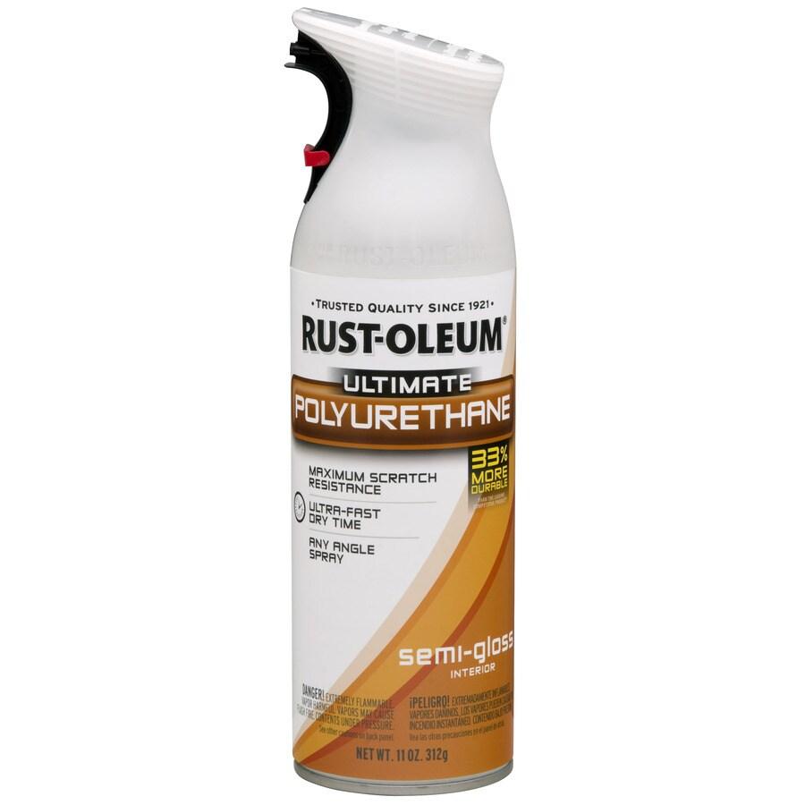 Rust-Oleum 12-oz Clear Semi-Gloss Spray Paint