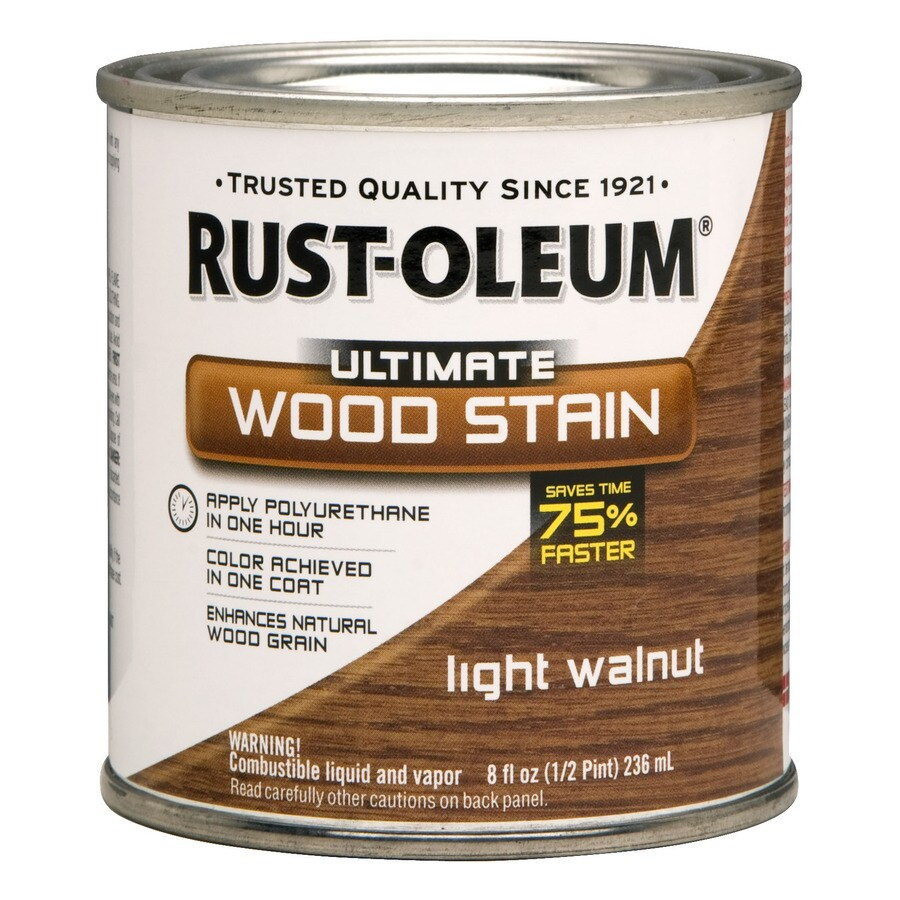 Rust-Oleum Light Walnut Wood Stain