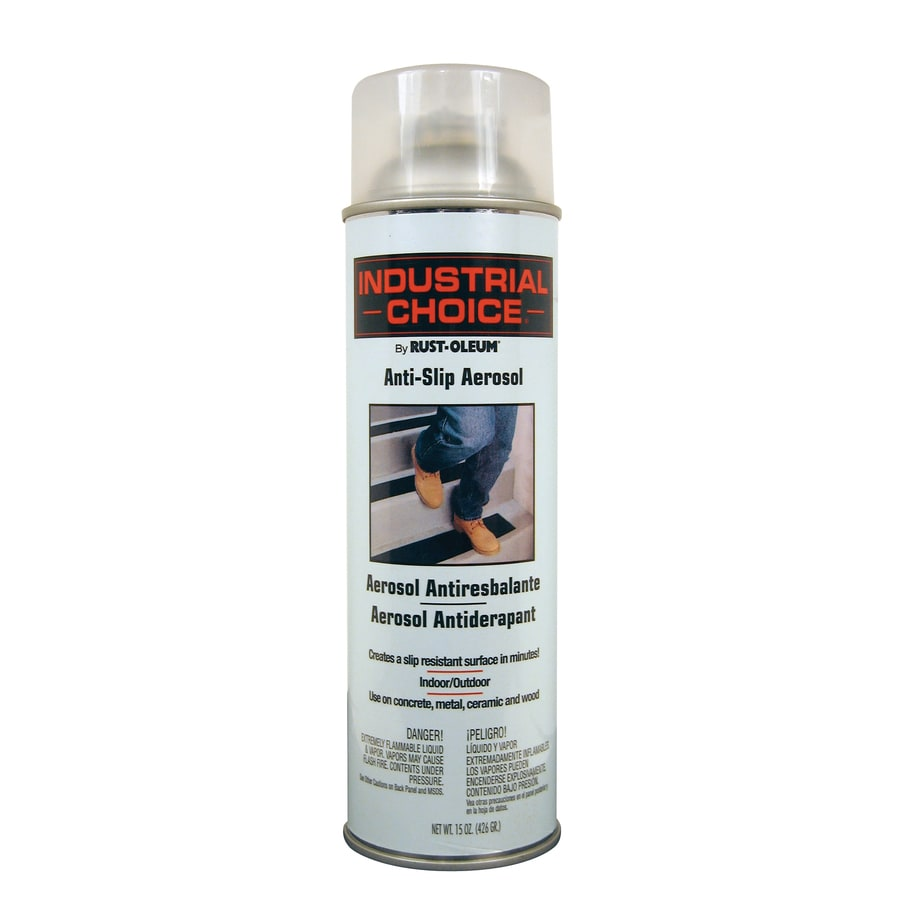 Rust-Oleum Industrial Choice Anti-Slip Clear Fade Resistant Spray Paint (Actual Net Contents: 15-oz)