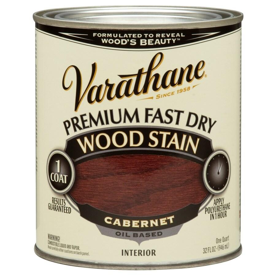 Varathane Varathane Fast Dry 32-fl oz Cabernet Oil-Based Interior Stain