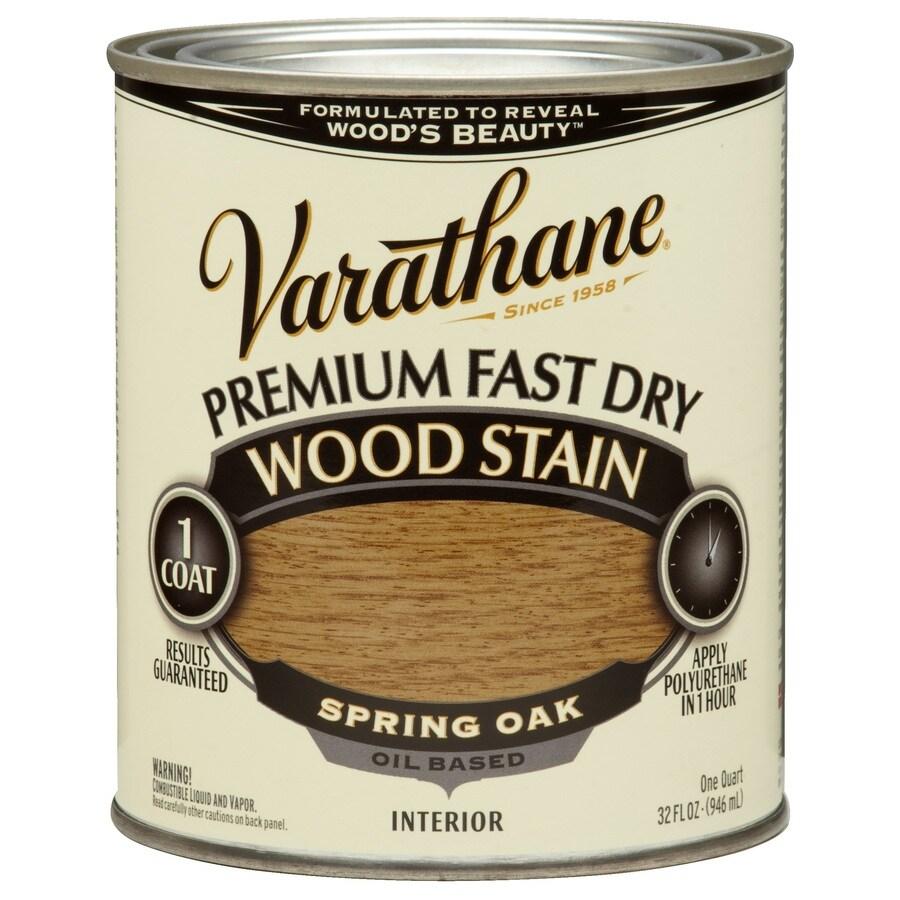Varathane Varathane Fast Dry 32-fl oz Spring Oak Oil-Based Interior Stain