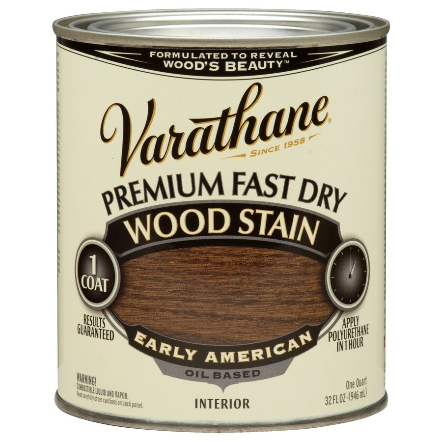 Varathane Varathane Fast Dry 32-fl oz Early American Oil-Based Interior Stain