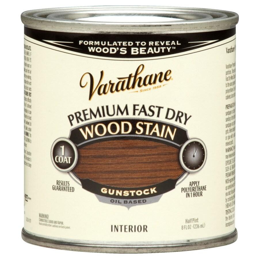 Varathane Varathane Fast Dry 8-fl oz Gunstock Oil-Based Interior Stain