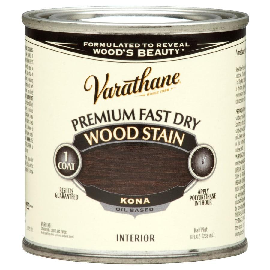 Varathane Varathane Fast Dry 8-fl oz Kona Oil-Based Interior Stain