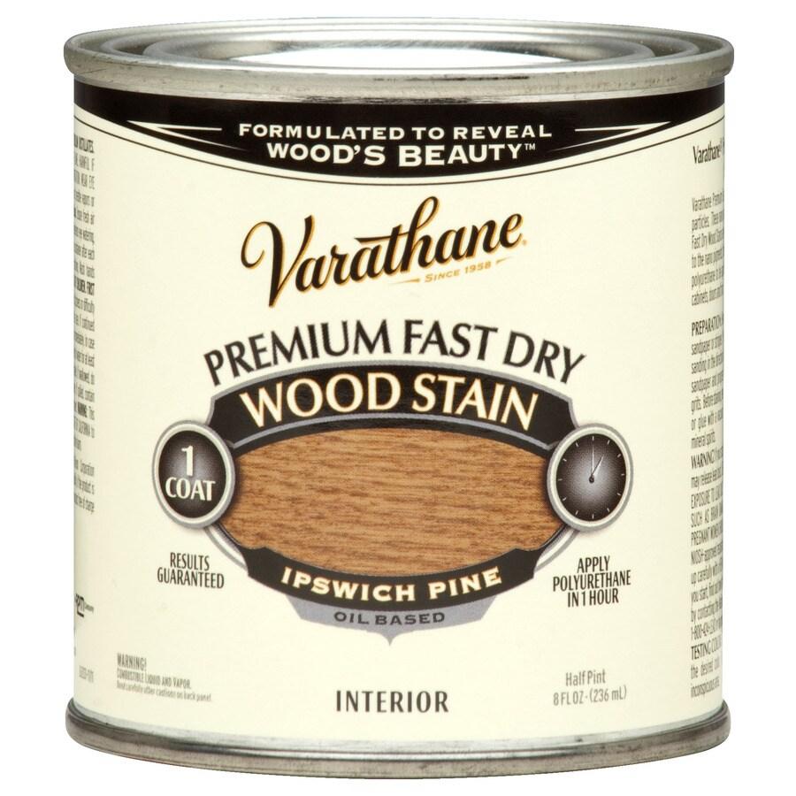 Varathane Varathane Fast Dry 8-fl oz Ipswich Pine Oil-Based Interior Stain