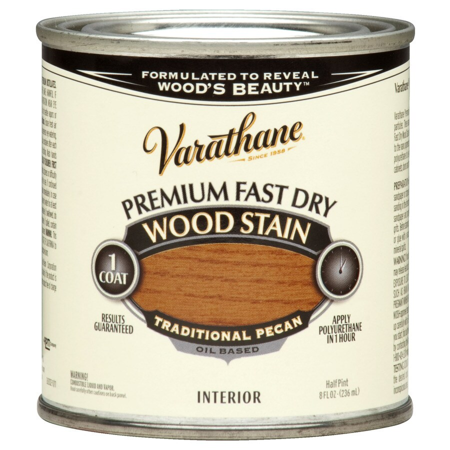 Varathane Varathane Fast Dry 8-fl oz Traditional Pecan Oil-Based Interior Stain