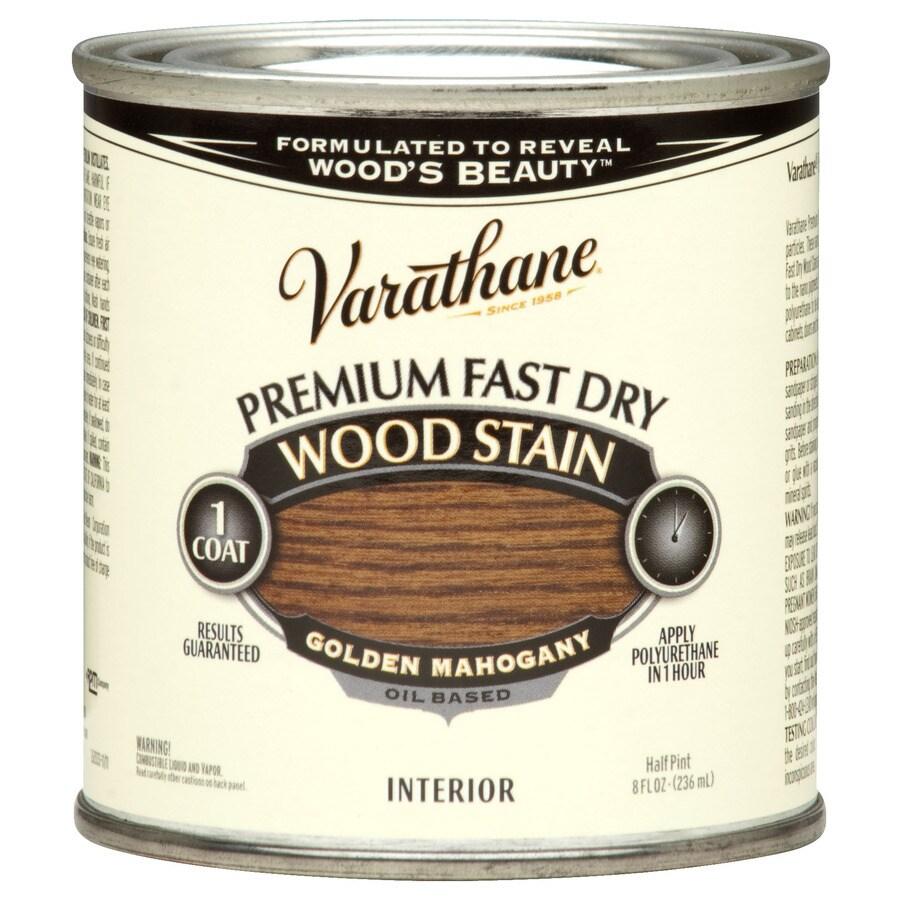 Varathane Varathane Fast Dry 8-fl oz Golden Mahogany Oil-Based Interior Stain
