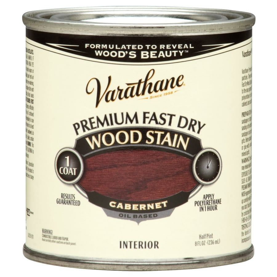 Varathane Varathane Fast Dry 8-fl oz Cabernet Oil-Based Interior Stain