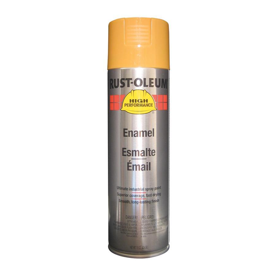 Rust-Oleum High Performance Industrial Yellow Rust Resistant Enamel Spray Paint (Actual Net Contents: 15-oz)