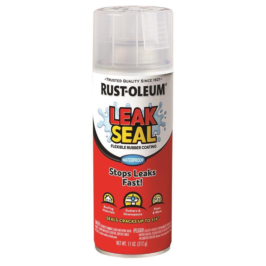 Rust-Oleum Stops Rust Leakseal Clear Water Resistant Spray Paint (Actual Net Contents: 12-oz)