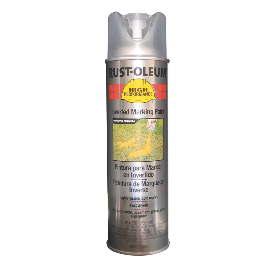 Rust-Oleum High Performance Marking Clear Fade Resistant Spray Paint (Actual Net Contents: 15-oz)