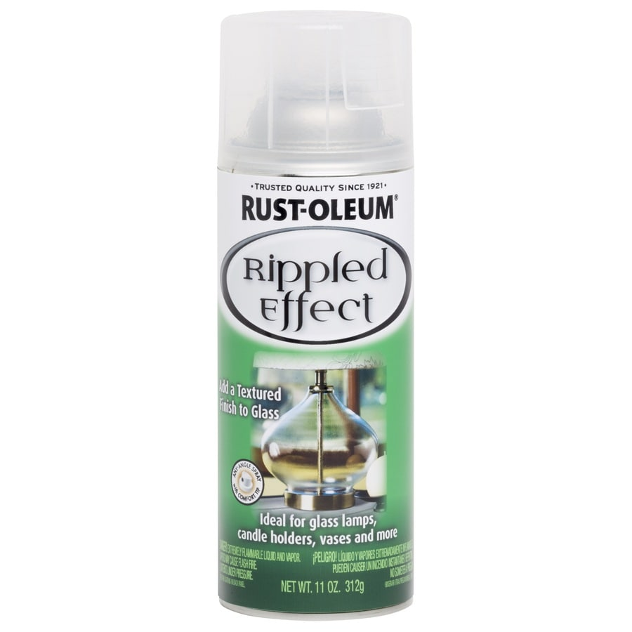 Rust-Oleum Specialty Rippled Clear Hammered Water Resistant Spray Paint (Actual Net Contents: 11-oz)