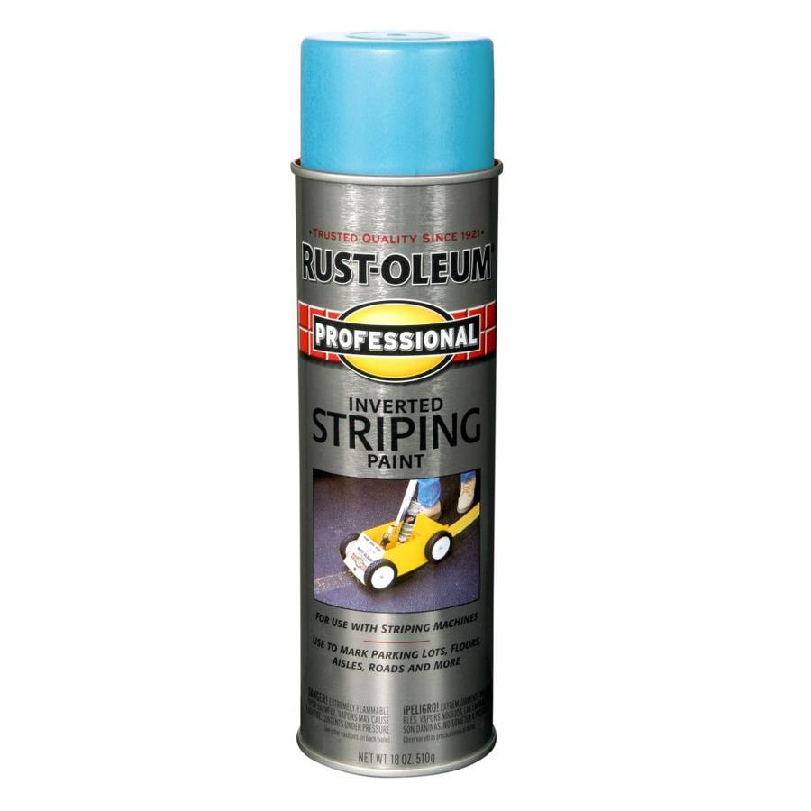 Rust-Oleum Professional Striping Blue Fade Resistant Enamel Spray Paint (Actual Net Contents: 18-oz)