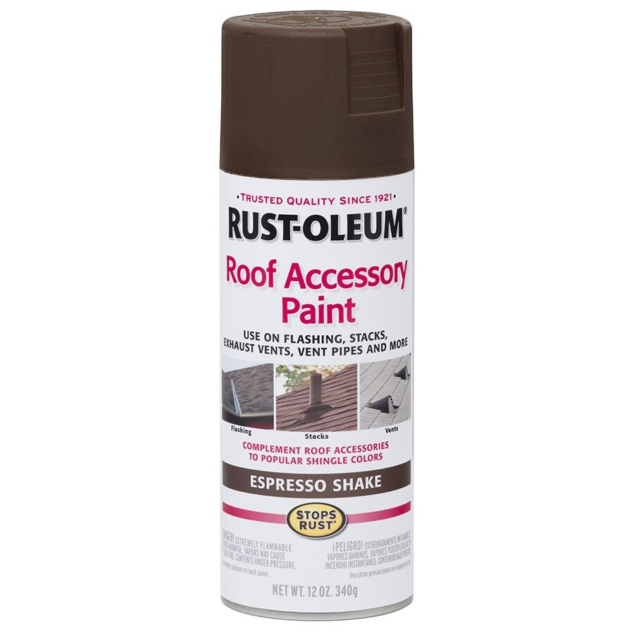 Shop Rust Oleum Roof Accessory Espresso Shake Rust