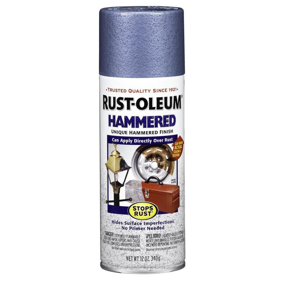 shop rust oleum stops rust light blue hammered rust. Black Bedroom Furniture Sets. Home Design Ideas
