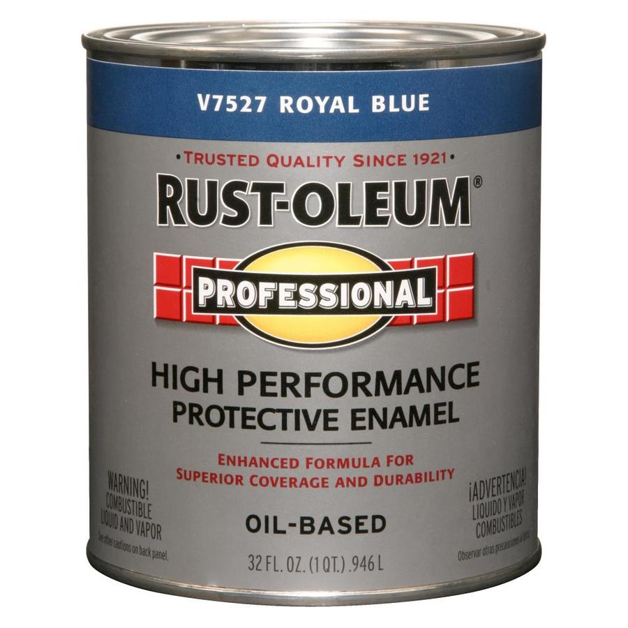 Rust-Oleum Professional Royal Blue/Gloss Enamel Interior/Exterior Paint (Actual Net Contents: 32-fl oz)