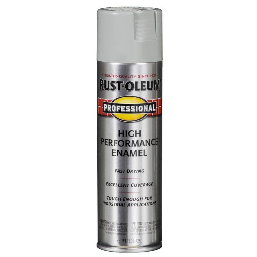 Rust-Oleum Professional Light Machine Gray Rust Resistant Enamel Spray Paint (Actual Net Contents: 15-oz)