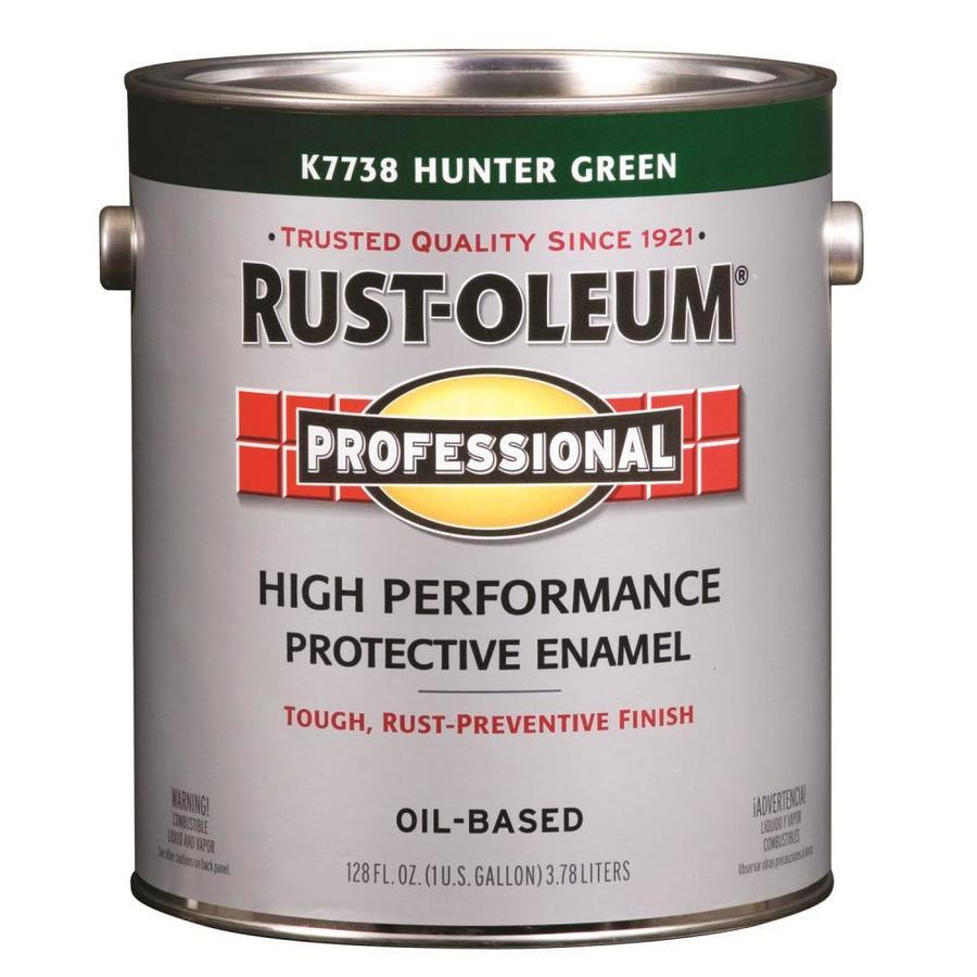 Rust-Oleum Professional Green Gloss Enamel Interior/Exterior Paint (Actual Net Contents: 128-fl oz)
