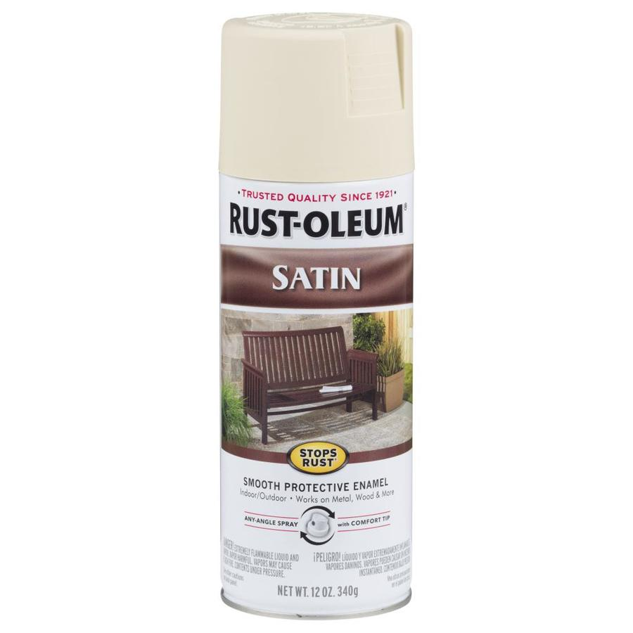 Rust-Oleum Stops Rust Almond Rust Resistant Enamel Spray Paint (Actual Net Contents: 12-oz)