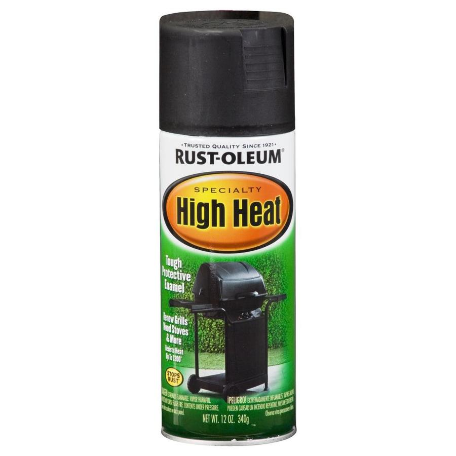 oleum high heat specialty high heat black rust resistant enamel spray. Black Bedroom Furniture Sets. Home Design Ideas