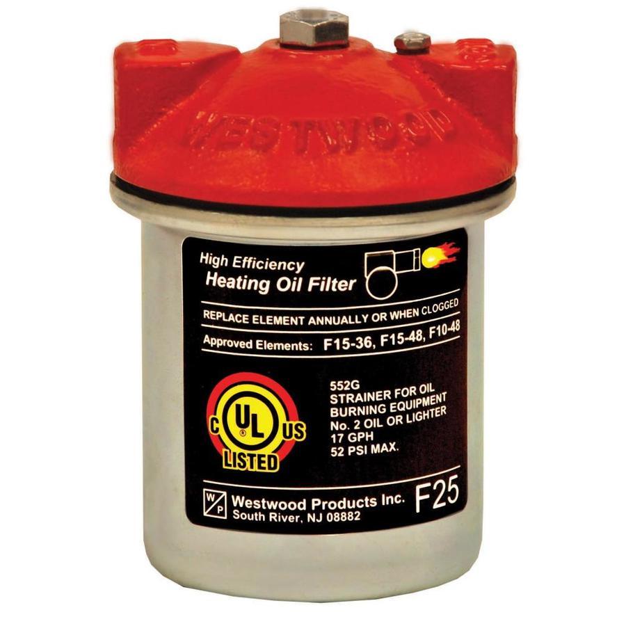 Durst 3/8-in IPS Fuel Oil Filter