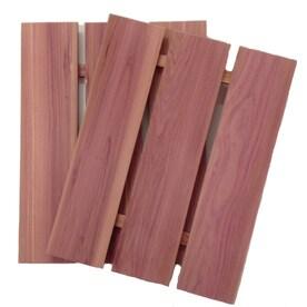 CedarAmerica 12-in x 1.25-ft Natural Cedar Shelf Liner
