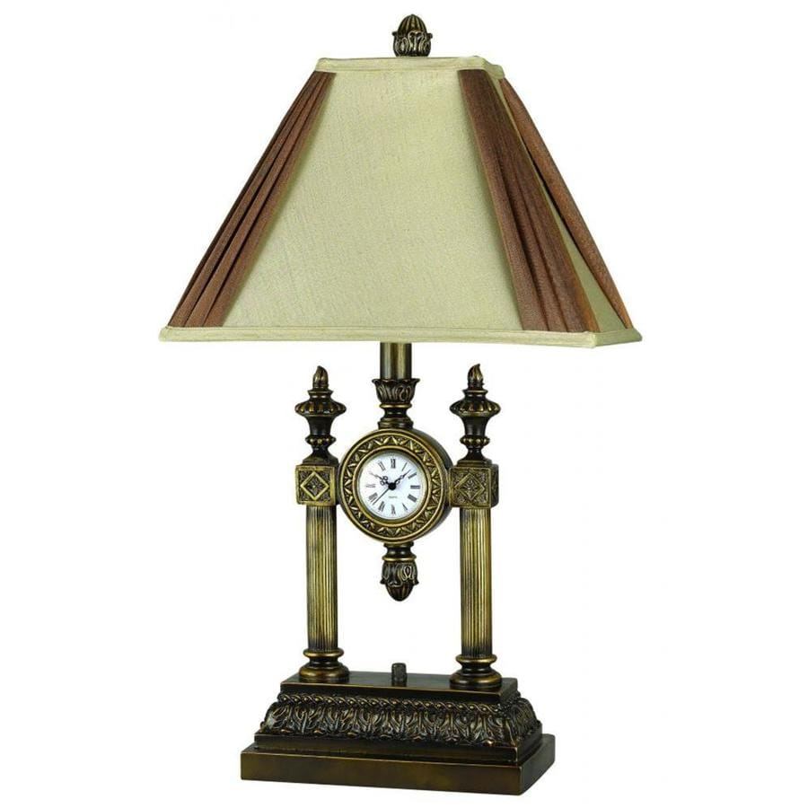 Axis 22-in 3-Way Gliding Indoor Table Lamp with Fabric Shade