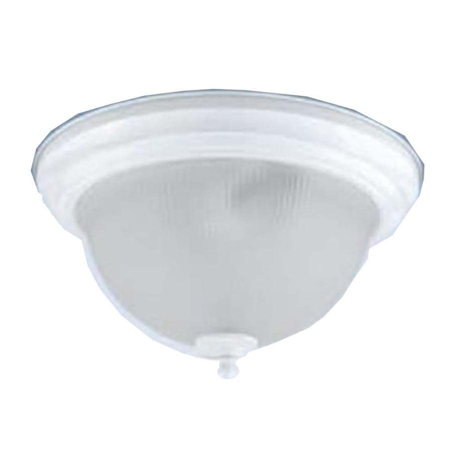 Axis 11-in W Plated Bronze Ceiling Flush Mount Light