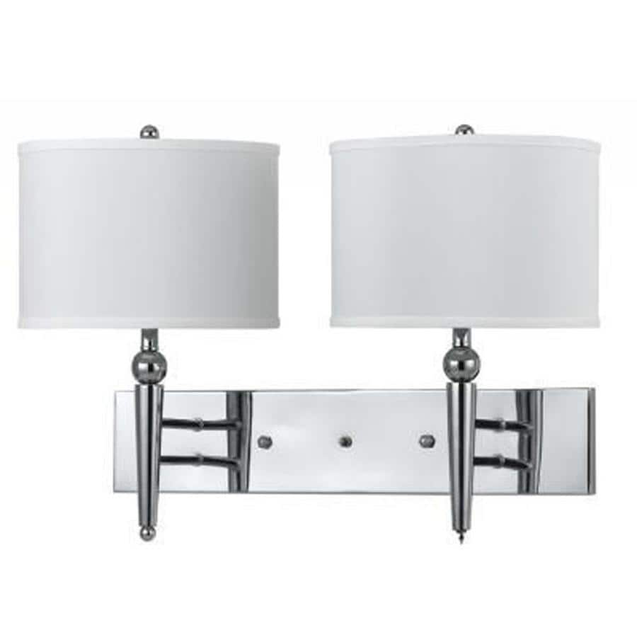 Axis 11-in W 2-Light Chrome Arm Wall Sconce